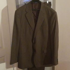 Joseph Abboud pinstripe suit